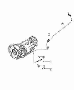 Jeep Grand Cherokee Cable  Automatic Transmission  Manual