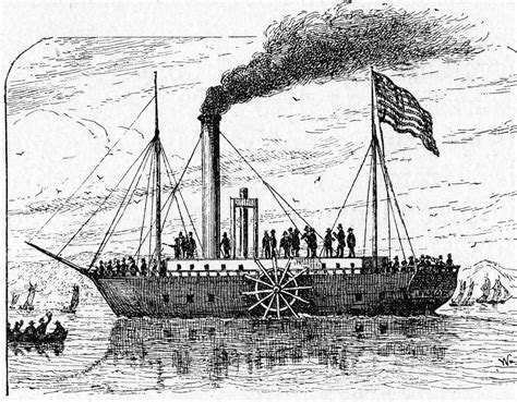 Steamboat Fulton by Inside The Apple Robert Fulton And The Age Of Steam