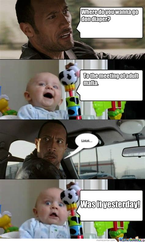 Mafia Baby Meme - pin cleverbot knows meme center on pinterest