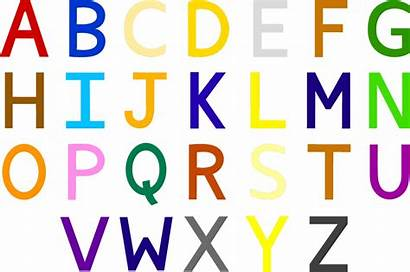 Synaesthesia Alphabet Letter Weebly Letters