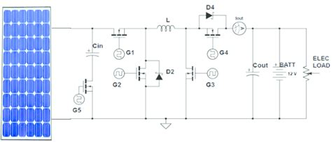 circuit schematic pv system using five switch non inverting synchronous scientific