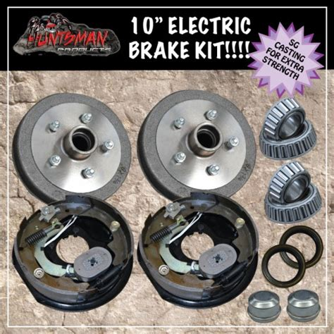 Boat Trailer Electric Brakes by 10 Quot Trailer Electric Brake Kit Caravan Boat Cer Trailers