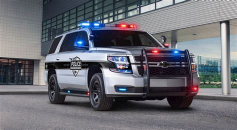 2018 Chevy Tahoe Ppv Helps Keep Police Officers Safe The