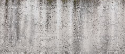 Molded Gray Concrete Wall Grunge Leaking   Top Texture
