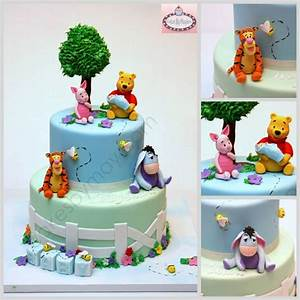 Winnie The Pooh Baby Shower Cakes Toppers - Party XYZ