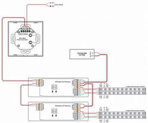 Dual Color Dt6  Dt8 Dali Touch Controller Sr