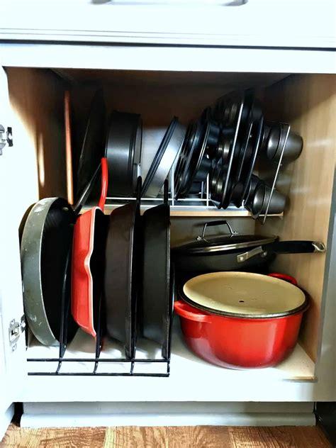 kitchen organizer organizers baking pans organize needs pot every porch shelf organizing way organized lid stuff inspirationformoms