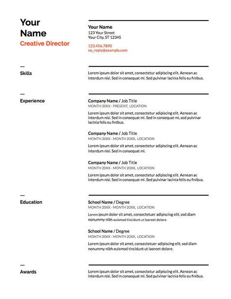 Doc Resume Template by 5 Docs Resume Templates And How To Use Them The