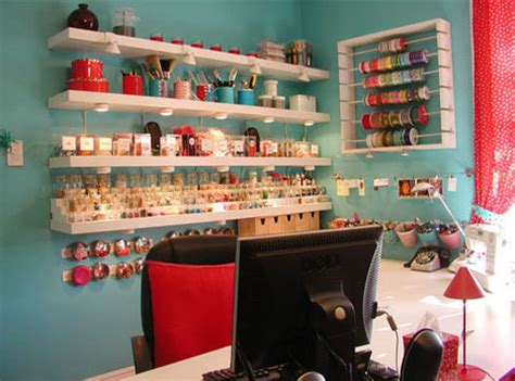 Incredible Crafts Room Uses Cheap Spacesaving Solutions