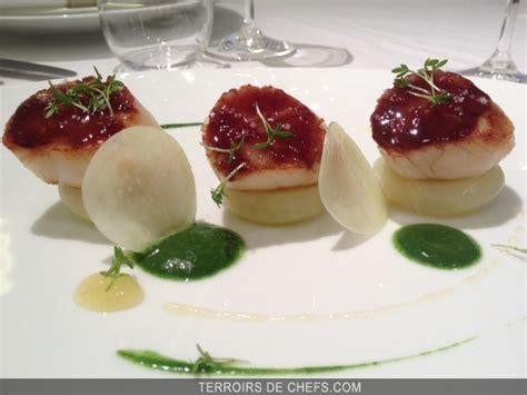 recette de cuisine gastronomique de grand chef recette chef frédéric duca coquilles jacques citron
