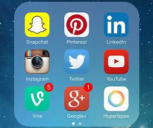 Which social media platforms use an algorithm?