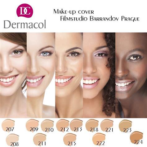 base maquillaje dermacol alta cobertura 13 tonos envi
