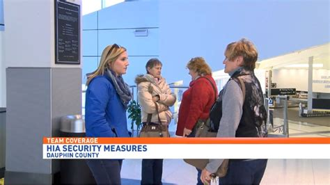 Harrisburg International Airport Shares Safety Measures