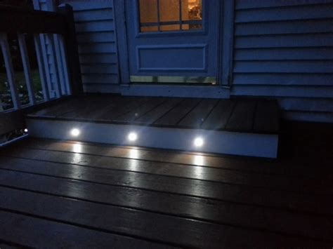 led decking lights led step lights 1 watt 1 led mini deck step