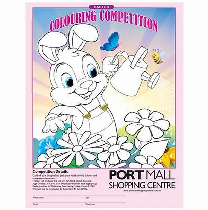 Easter Australia Competition Colouring Posters Poster
