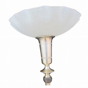 Replacement torchiere lampshade on shoppinder for Meryl floor lamp shade replacement