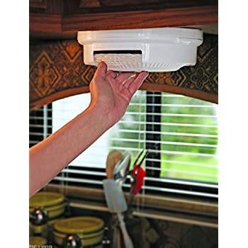 amazoncom plate holders organizer  kitchen cabinets vertical small metal dish storage