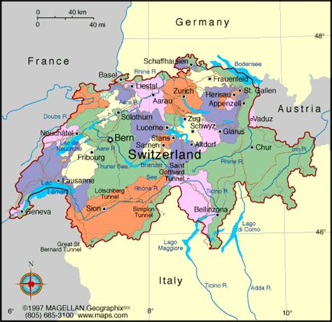 Carte Suisse by Mrs World Map Country