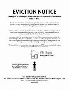 nyu jewish students pro palestinian groups eviction With eviction letter nj