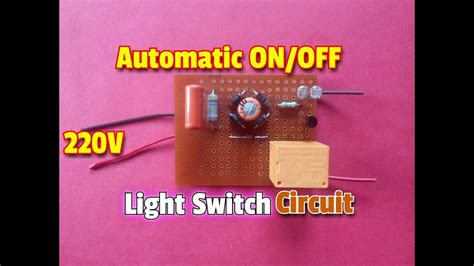 How Make Transformer Less Automatic Off Light Switch