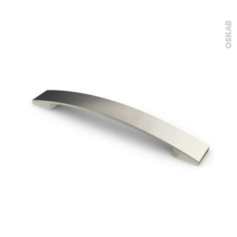 poignée de meuble de cuisine n 3 inox brossé 20 2 cm