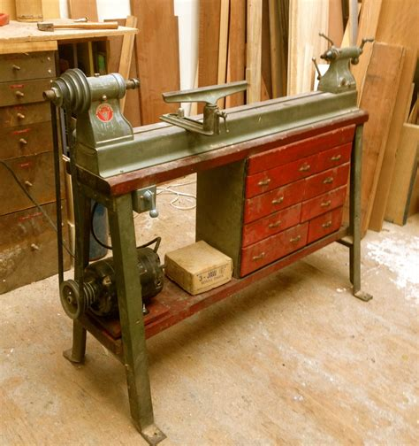 bought  ancient delta lathe  number  years