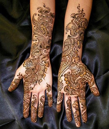 Latest New Bridal or Dulhan Mehndi Designs 2016 for Full ...
