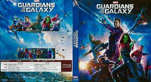 Guardians of the Galaxy Blu-Ray DVD Cover (2014)