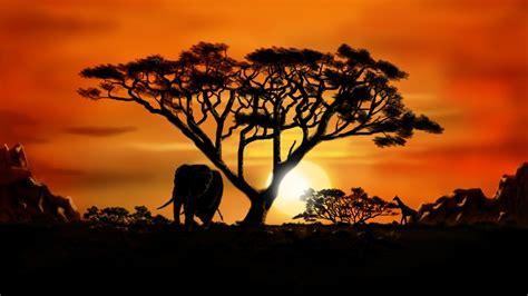 African Landscape By Dasflon On Deviantart
