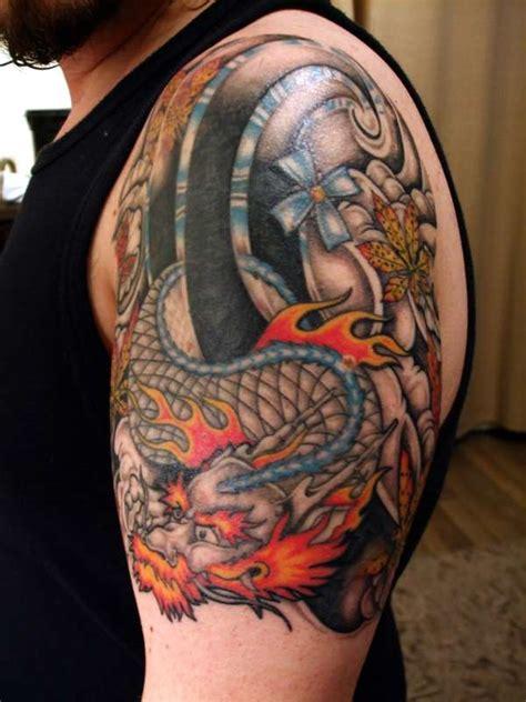 dragon cover  tattoo