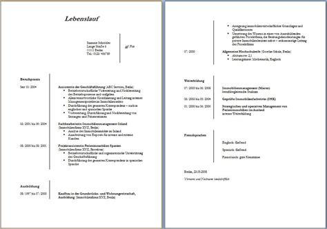 Muster Lebenslauf Kostenlos Word by Kostenlose Lebenslaufvorlagen Zum Herunterladen Office