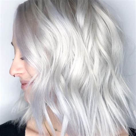 White Color Hair by The Baby White Hair Color Trend Is So Light It S Almost