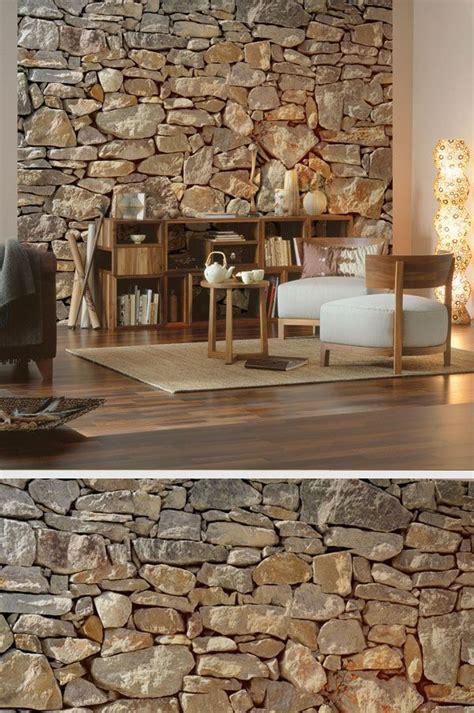 steinwand wohnzimmer hornbach die besten 25 steinwand ideen auf