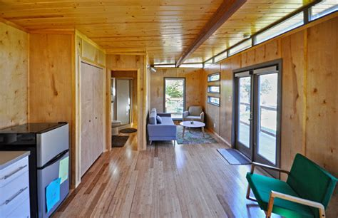 tiny house town    modern modular cabin