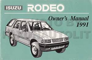 1991993 Isuzu Trooper Rodeo Auto Transmission Repair Shop Manual Supp