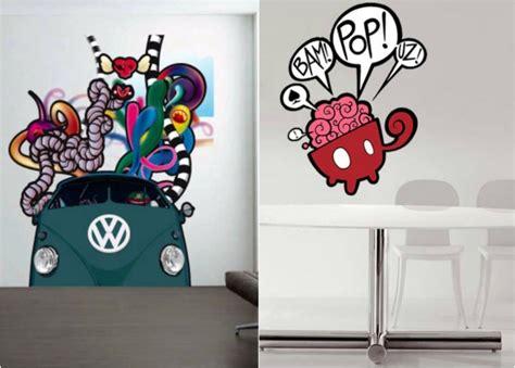 stickers de pour chambre 42 stickers muraux graffiti pour la chambre ado extraordinaire