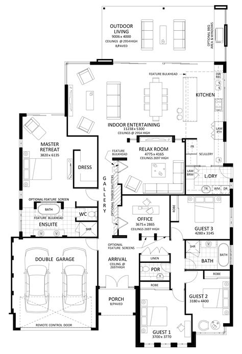 floor plan friday excellent  bedroom bifolds