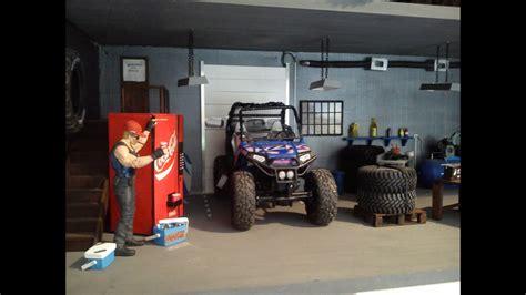 garagediorama  scale crawler rc