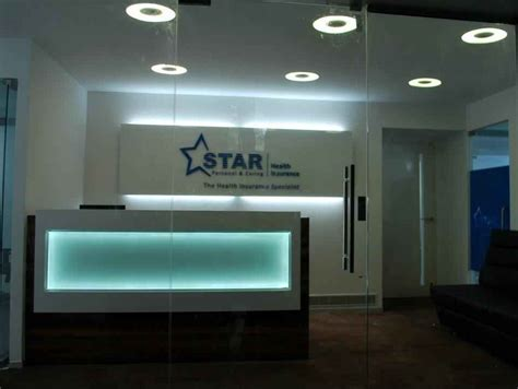 Star health insurance company has more than 9900+ network hospitals where the insured members can avail cashless treatment. Star Health Insurance Corporate Office by Geometrixs Architects & Engineers, Interior Designer ...