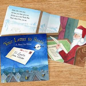 personalised book your letter to santa children39s With your letter to santa book