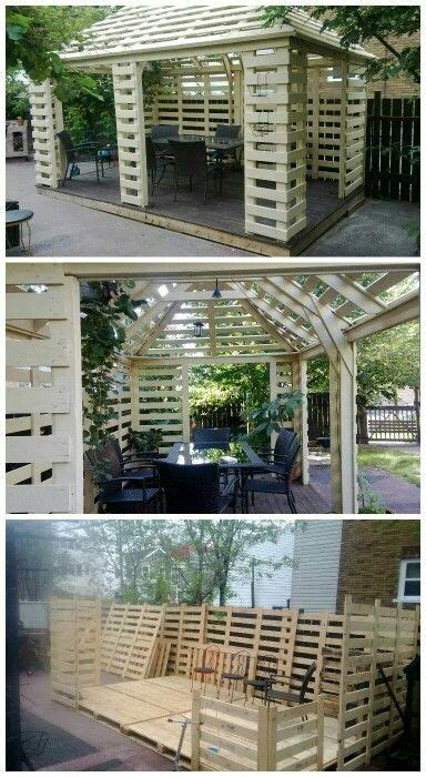 pallet pergola patio ideas pinterest pallet pergola