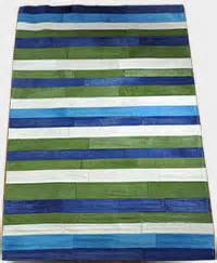 Teppich Blau Weiß Gestreift : exklusiver kuhfell teppich weiss 120 x 180 cm ~ Eleganceandgraceweddings.com Haus und Dekorationen