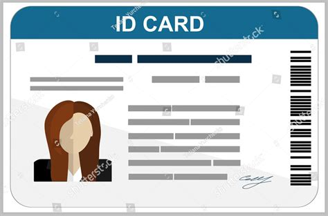 how to make id card template in word 43 professional id card designs psd eps ai word