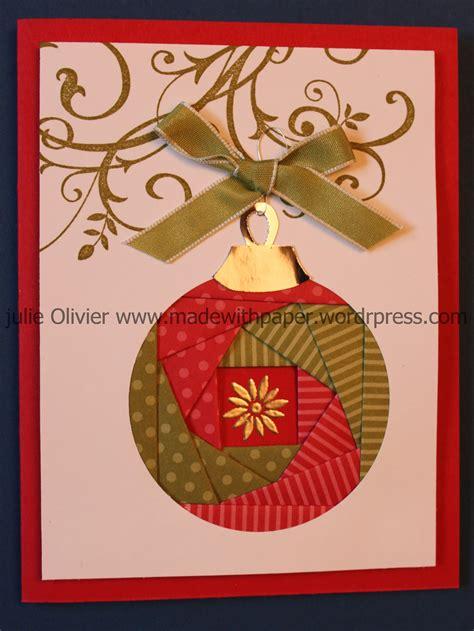 iris folding christmas ornament   paper