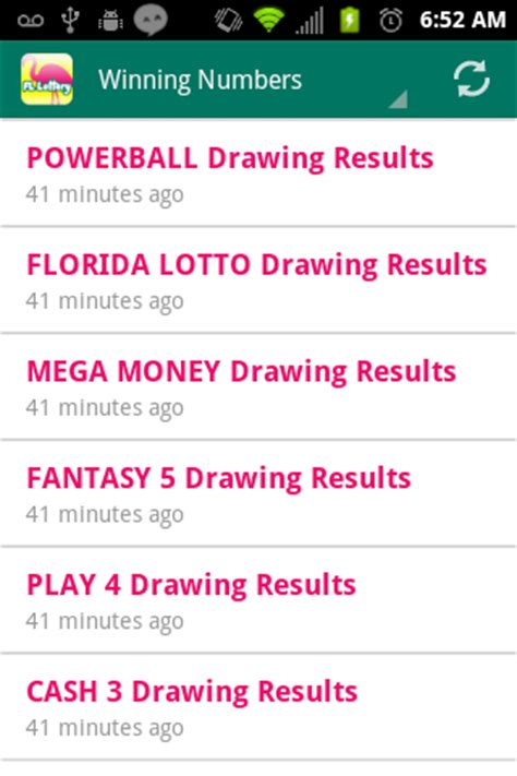 florida lottery app for android florida lottery results android apps on play