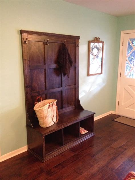 ana white fancy hall tree  project diy projects
