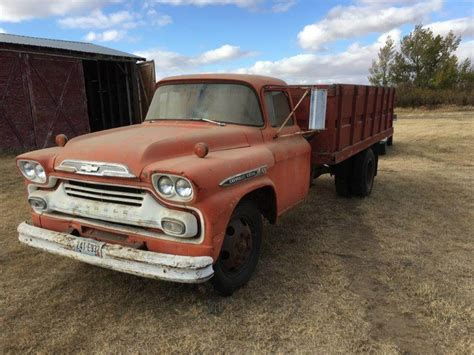 1959 Chevrolet C60 Farm / Grain Truck For Sale