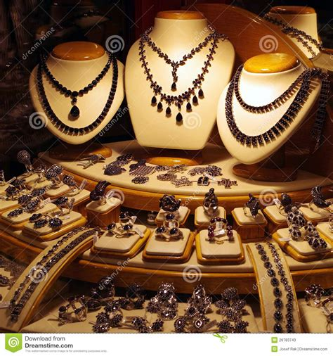 Jewelry Store Display Stock Photos  Image 26783743