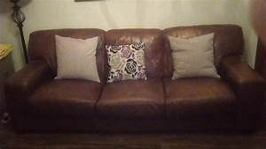Brown soft leather couch for sale in waterford city for Soft leather sofa bed