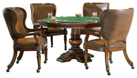 waverly place reversible top poker table traditional